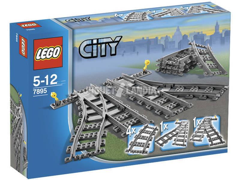 Lego City Trains Les aiguillages