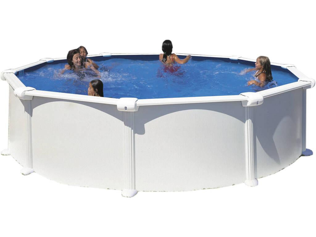Piscina Circular Atlantis 350x132 Cm Gre KITPR358