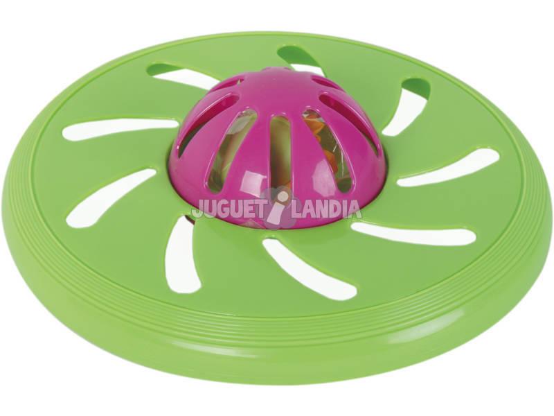 Disco Voador de 20 cm. Splash Com Balões