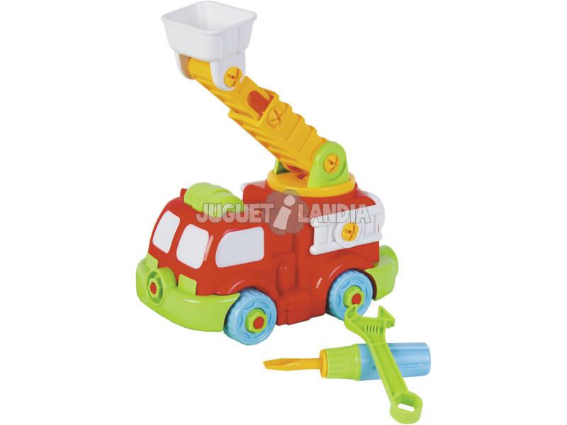 Camion de Pompiers 18 cm Démontable
