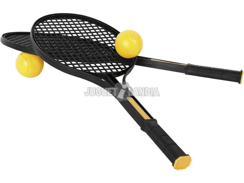 Raquetas 50x26 cm. Con 2 Pelotas de 5 cm.