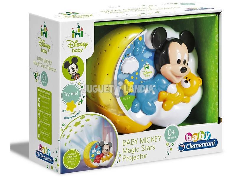 O bebê Mickey Clementoni projetor 17095
