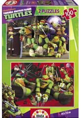 Puzzle 2X100 Tortugas Ninja
