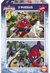 Puzzle 2X100 Ultimate Spiderman