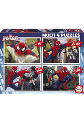 Puzzle 50-80-100-150 Ultimate Spiderman
