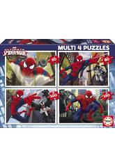 Puzzle 50-80-100-150 Ultimate Spiderman Educa 15642