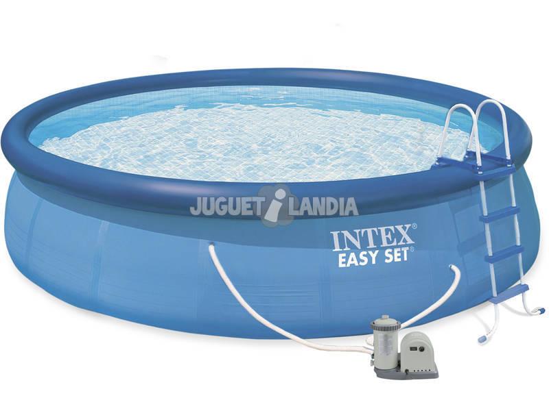acheter piscine hors sol 549x107 cm intex 56417 juguetilandia. Black Bedroom Furniture Sets. Home Design Ideas
