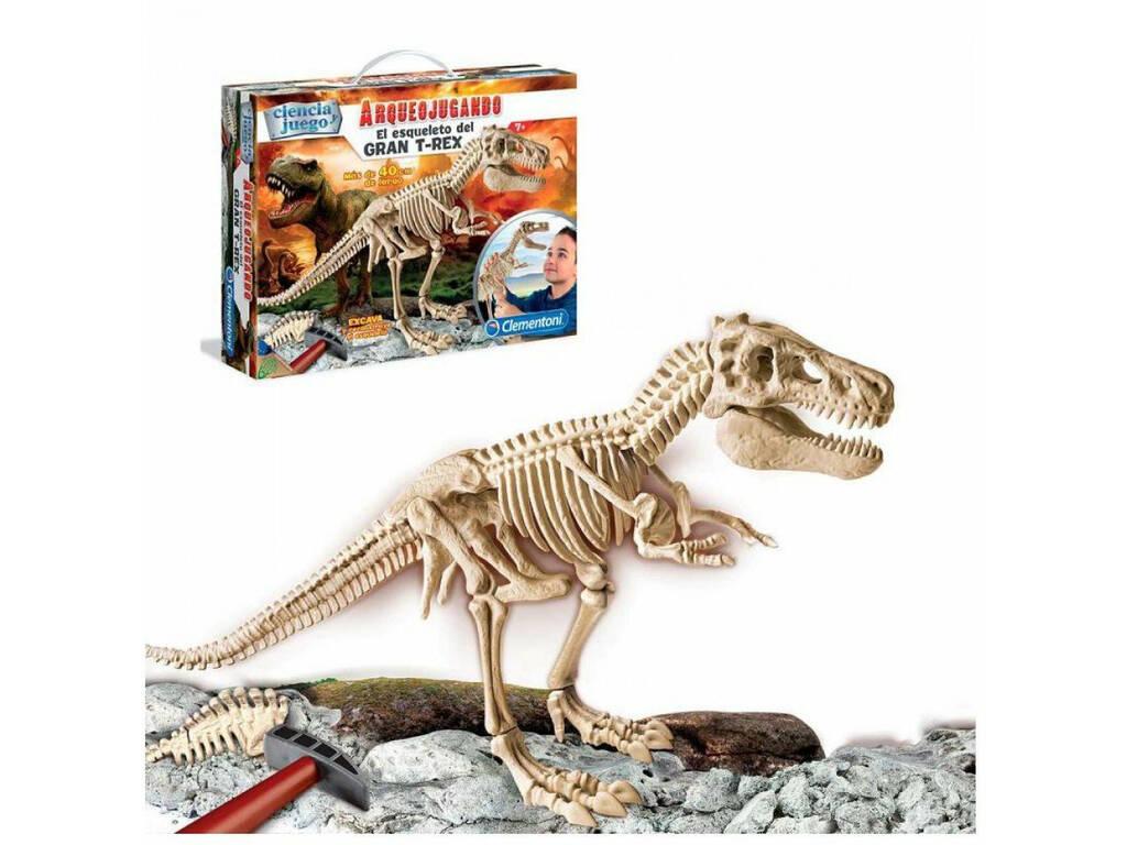 Arqueojugando T-Rex Gigante
