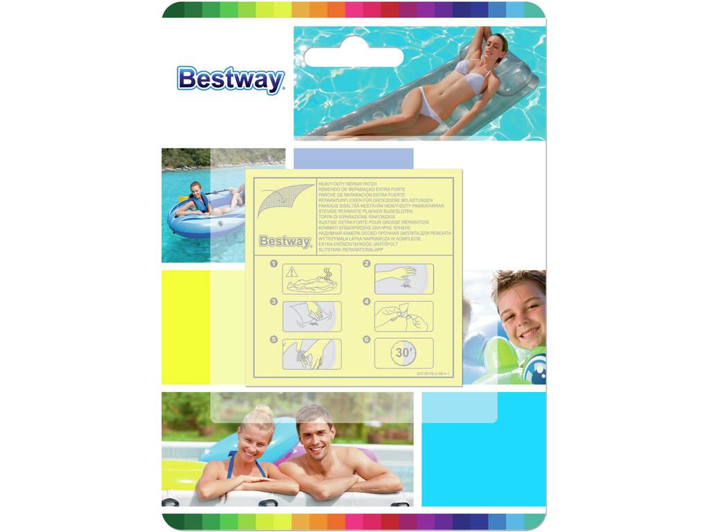 Remendos para Reparação Extrafortes Bestway 62068