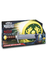 World of Warriors - Set Spada e scudo da battaglia di Gunnar