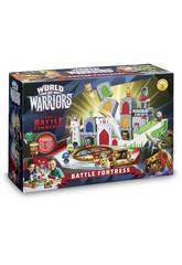 World of Warriors La Forteresse Playset + 2 Figurines