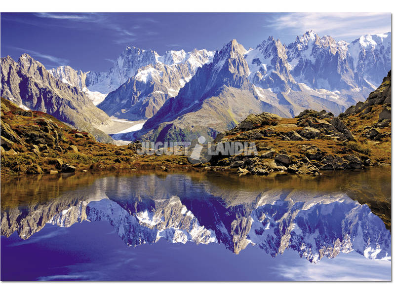 Puzzle 1500 Chamonix, Mont Blanc, Francia