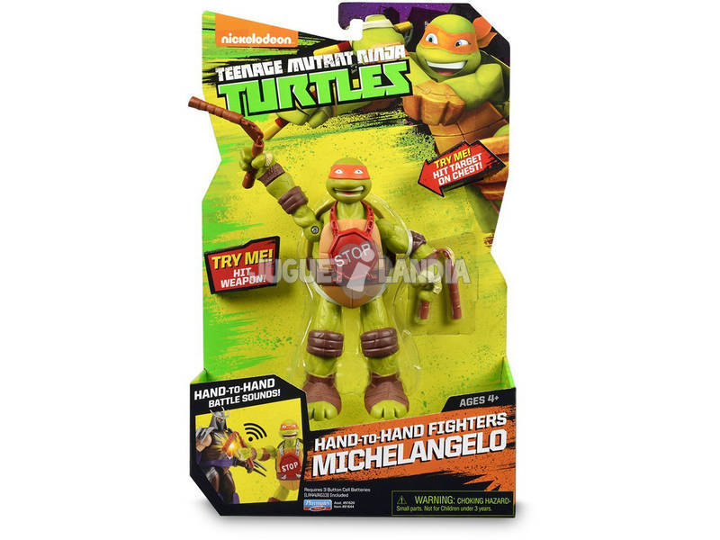 Tortugas Ninja. Figuras Hand To Hand 4 Modelos