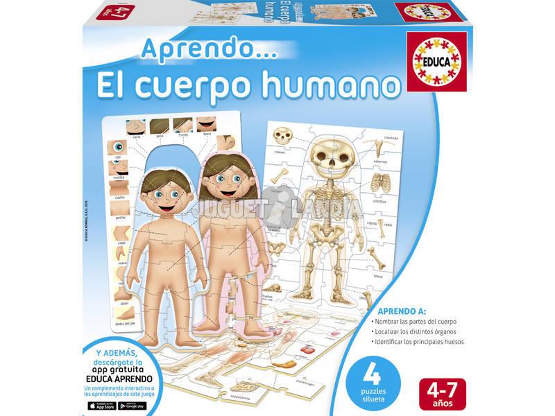 Eu aprendo ... O corpo humano Educa 16472