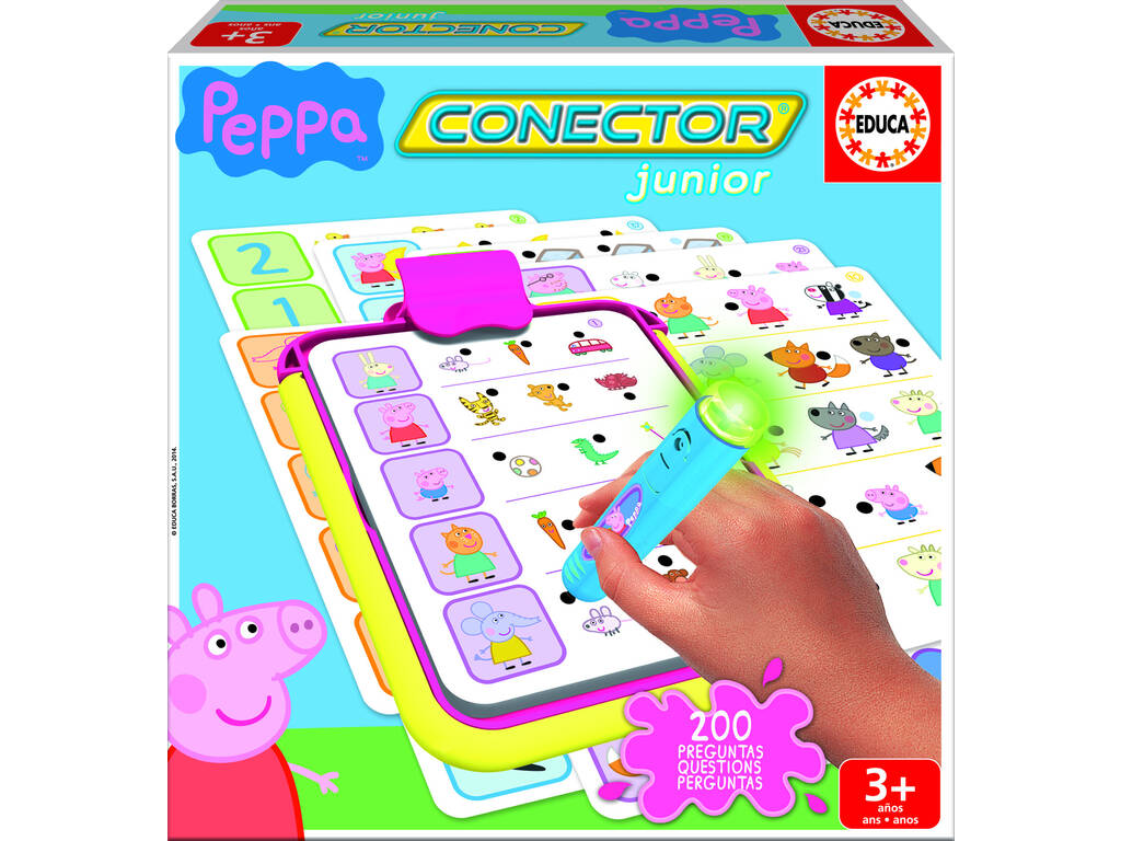 Peppa Pig Educa 16230 Junior Connector