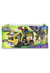 Tmnt Movie 2  - Garbaje Truck + 1 Figura Exclusiva