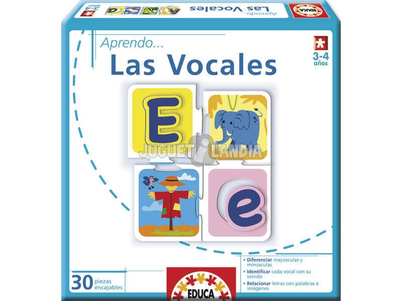 Eu aprendo ... Las Vocales Educa 14232