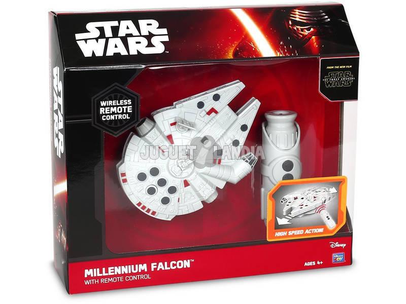 Giochi Preziosi - Star Wars il Risveglio della Forza - Astronave Millenium Falcon con Radiocomando 15 cm