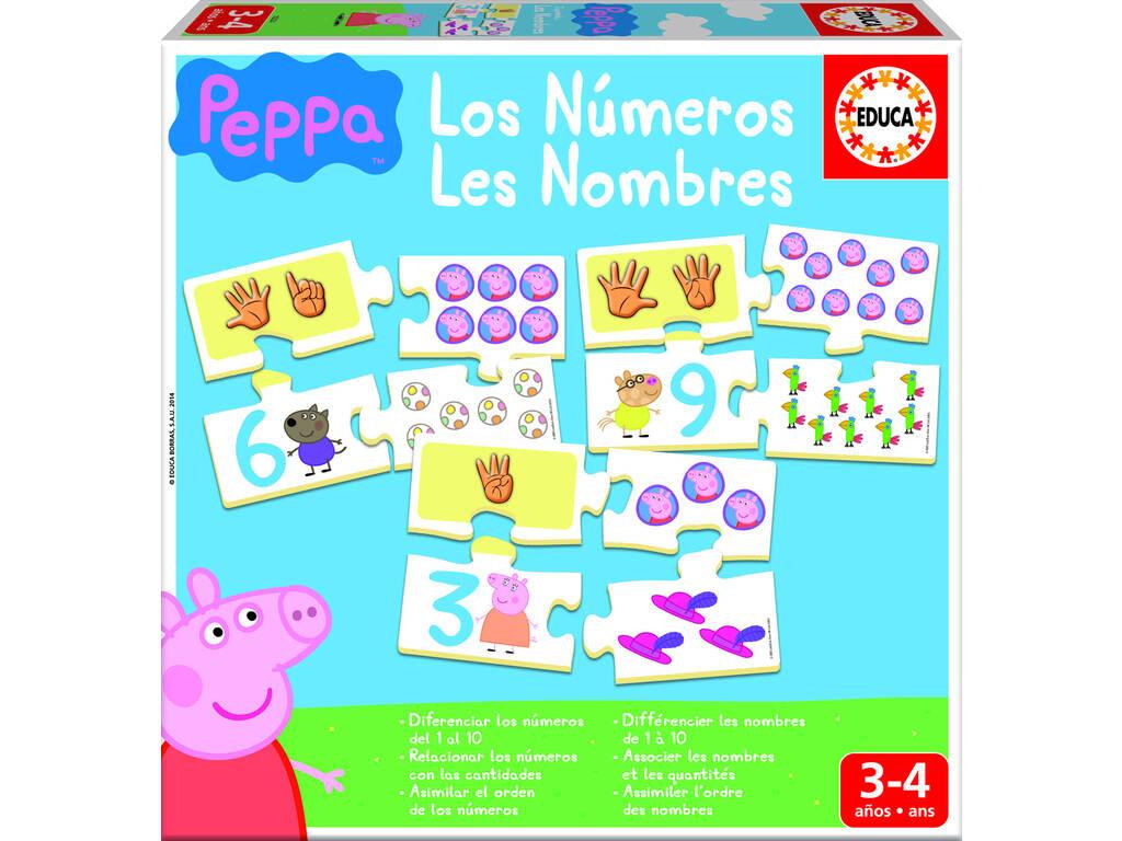 Eu aprendo os números do Peppa Pig