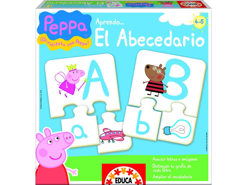 Eu aprendo o Alfabeto Peppa Pig