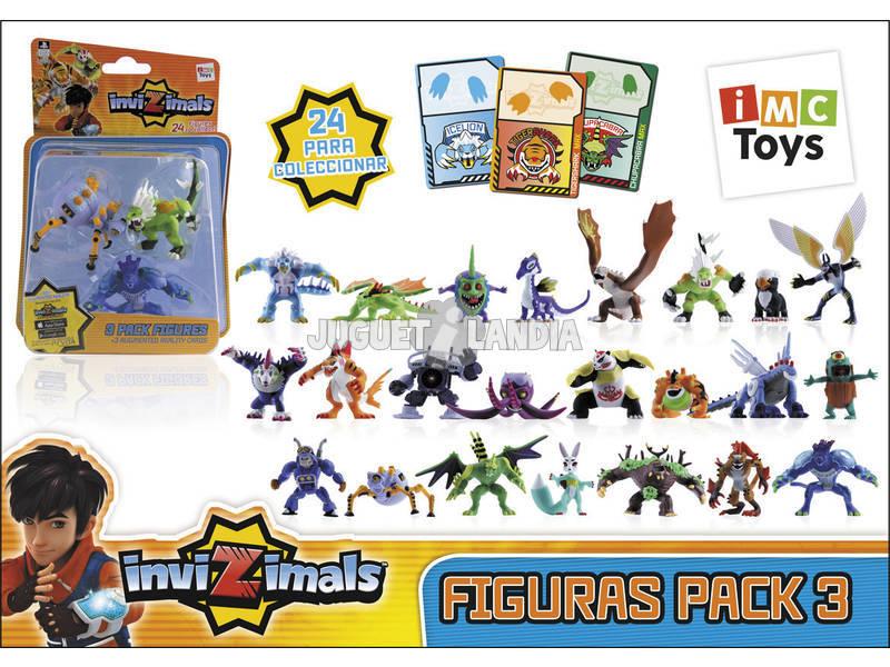 Invizimals Pack 3 Figures