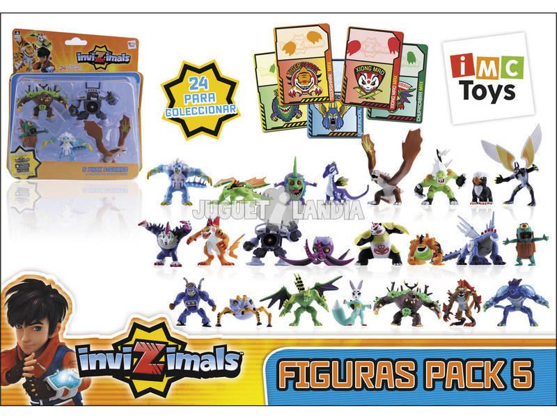 Invizimals Pack 5 Figuras. IMC 30039