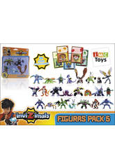 Invizimals Pack 5 Figurines