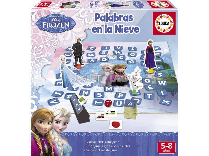 Palabras En La Nieve Frozen Portugués