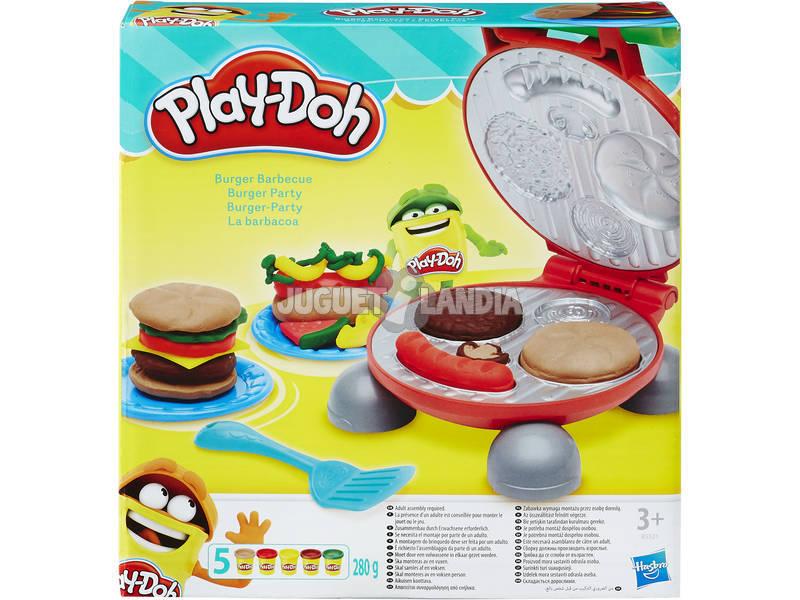 Manualidades Play-Doh Hambúrgueres Churrasco HASBRO B5521