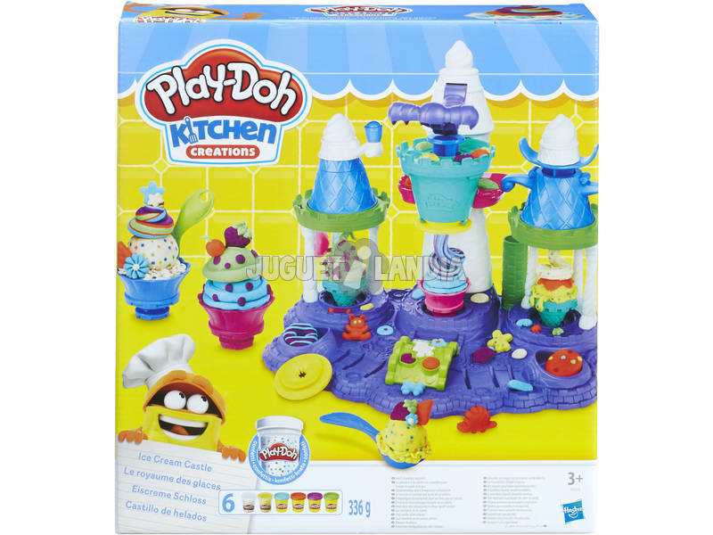 Manualidades Play-Doh Castillo De Helados Hasbro B5523