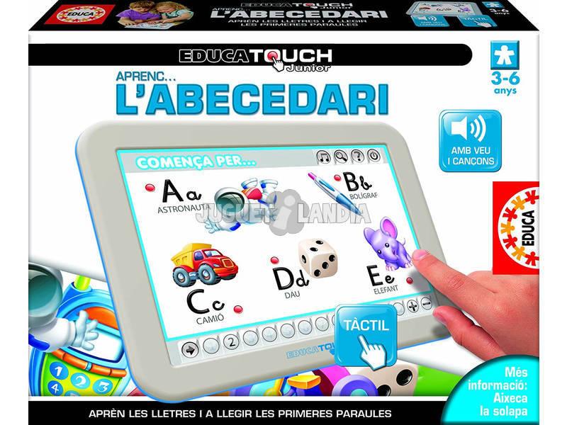 Educa Touch Junior Aprenc... L'Abecedari en Català Educa 15677