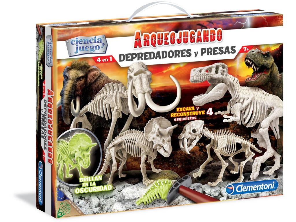Clementoni Archeogiocando Predatori e Prede