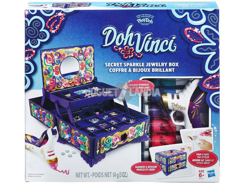 Jogar Doh Dohvinci Secret Jewelry Box