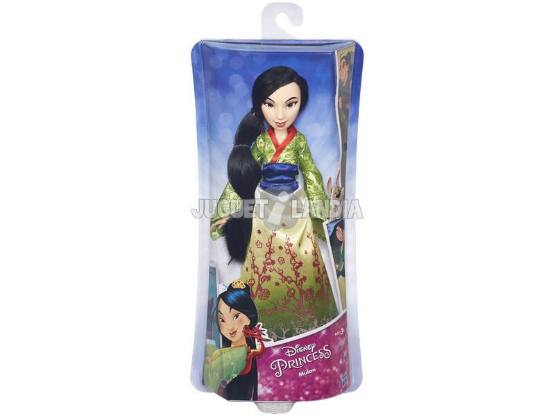 Boneca Princesas Disney Mulán 30 cm HASBRO B5827