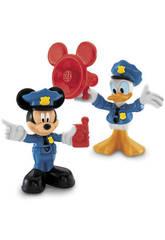 La Casa de Mickey Mouse 2 Figuras Mundo de Mickey