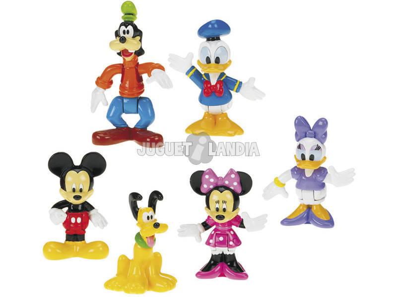 La casa de Mickey mouse figuras