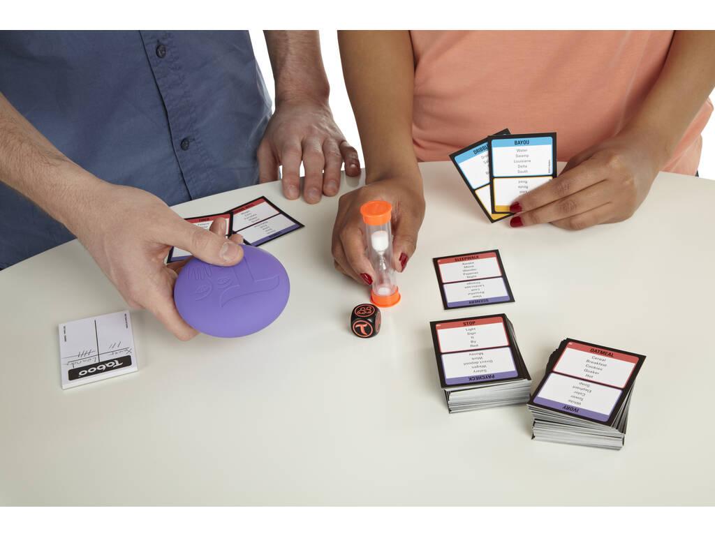 Juego mesa tabu hasbro gaming a4626105 juguetilandia for Juego de mesa tabu precio