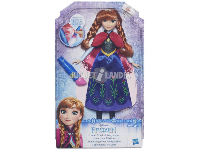 Frozen Capa Historia Mágica Anna