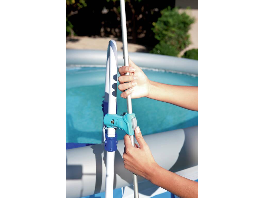 Doccia per piscina montabile scala juguetilandia for Piscina montabile