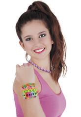Pulseira Handy Neon Bandz Caixa