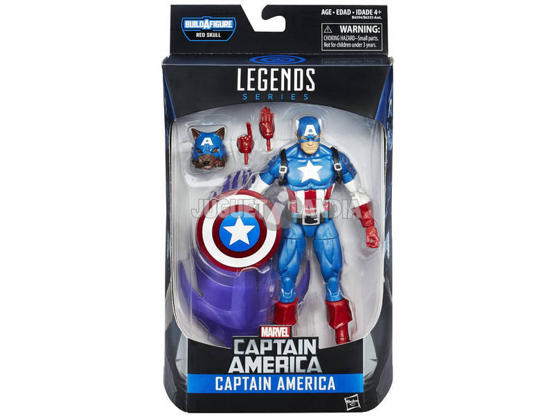 Captain America Legends Figure da 15 cm