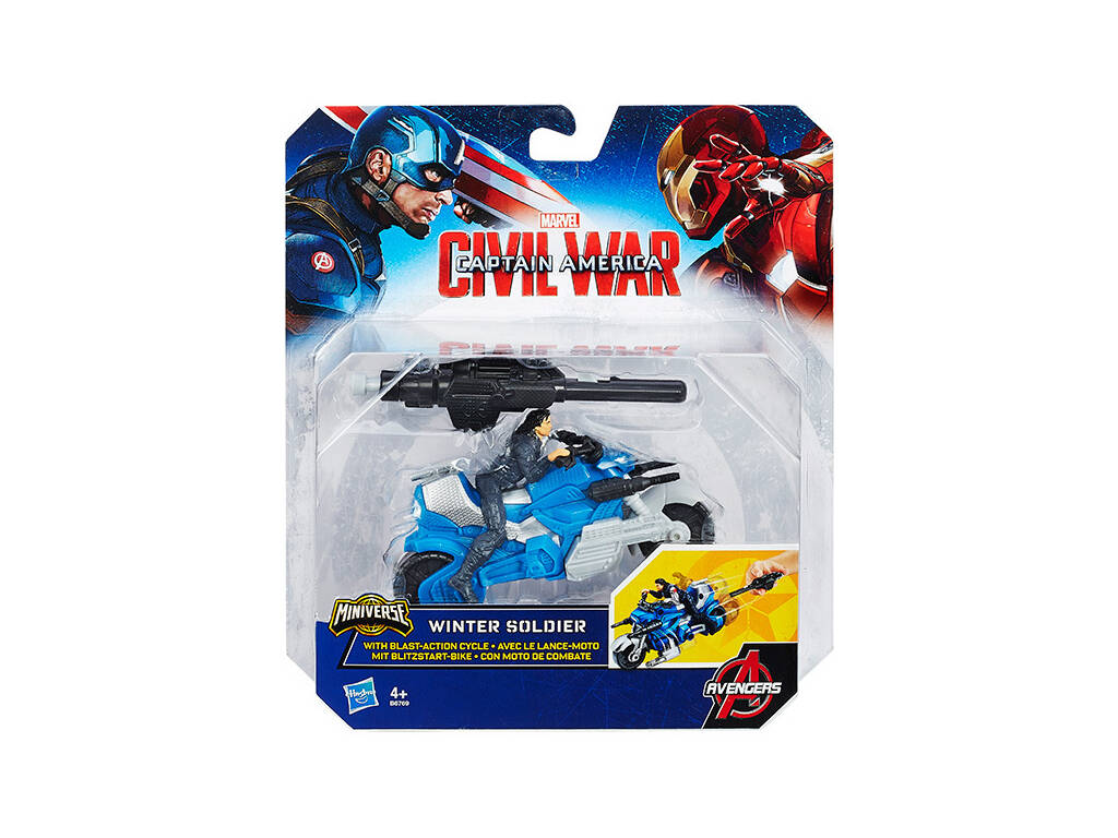 Captain America figure 6 cm Civil War