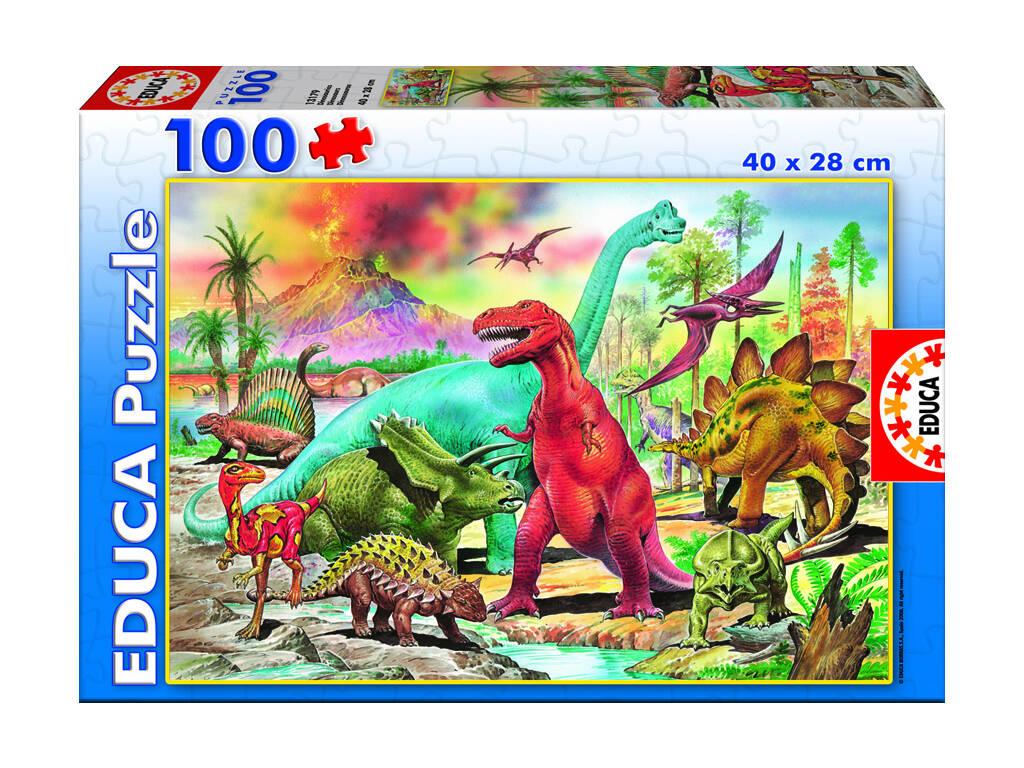 Puzzle 100 Dinossauros