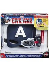 Capitán América Casco Visión De Acero