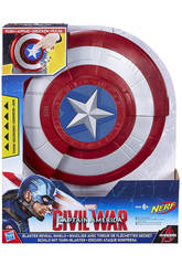 Capitán América Escudo Lanzador Nerf