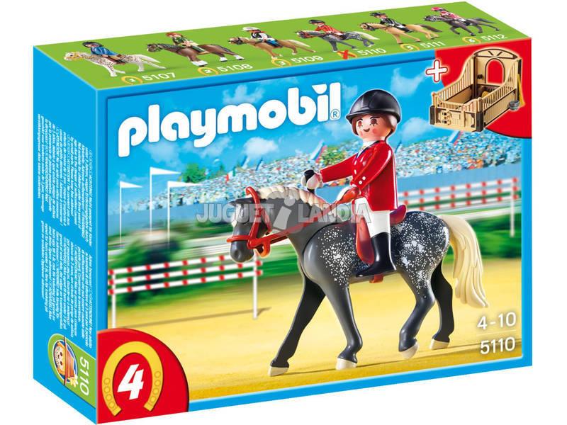 Playmobil Cgeval Trakehner avec entraîner
