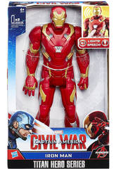 Iron Man Figura Elettronica Civil Wars