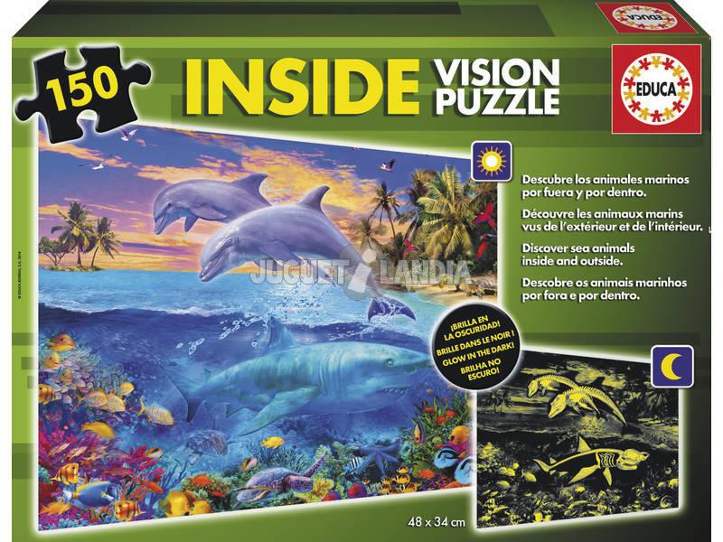 Puzzle 150 Mundo Aquático