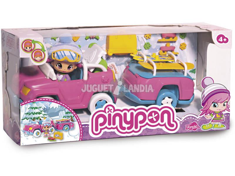 Pin y Pon macchina da neve con rimorchio