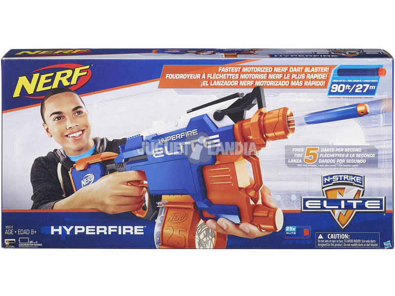 Nerf Elite Hyper - Fire
